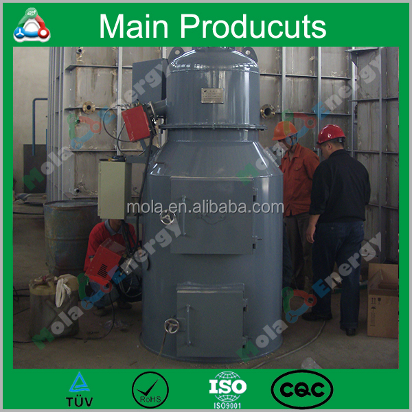 Mola-Y-03 Pet/ Industrial/ Medical/ Sanitary Napkin/ Rotary Kiln Incinerator