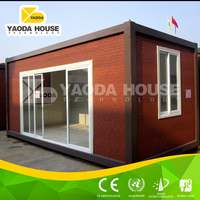 China container used as construction site dormiotry or office