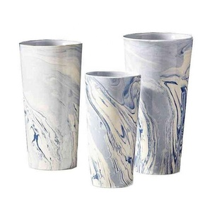 Wholesale graceful cheap price home goods big ceramic marble flower vase