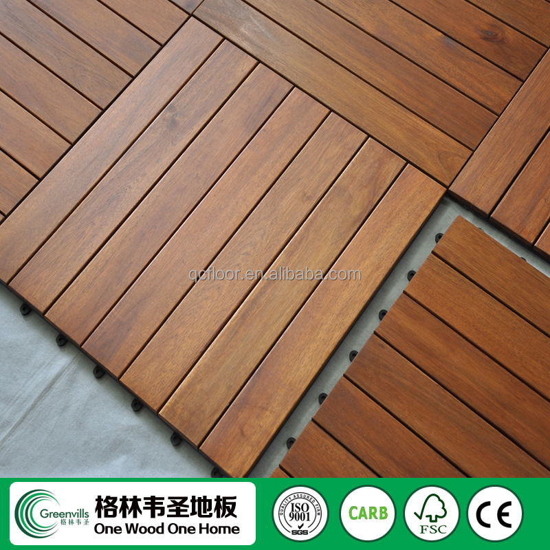 Interlocking Vinyl Kitchen Floor Tiles