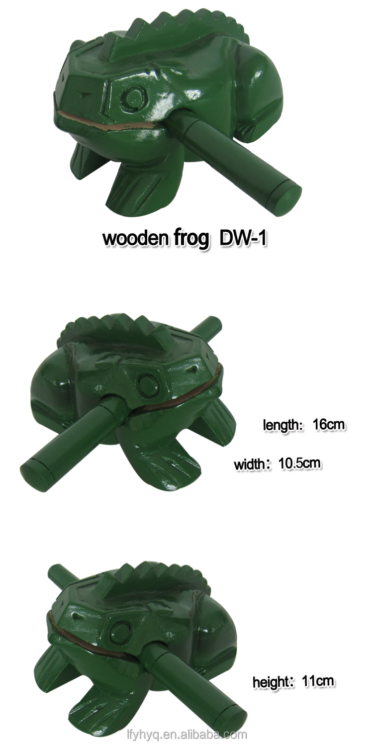 Wooden handmade crafts, wooden frog carving, carved wooden frogs