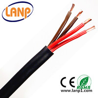 OEM and ODM service provided 4*0.75mm2 power cable wire