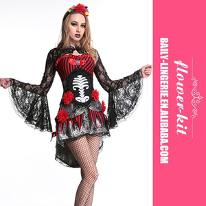 Sexy Womens Gothic Medieval Vampire Queen Halloween Costume