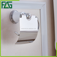 FLG free standing toilet paper holder brass