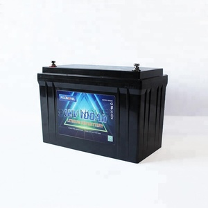 Polinovel RV Solar Marine Storage Lifepo4 Battery 12V 100Ah With Intelligent Bluetooth Monitoring