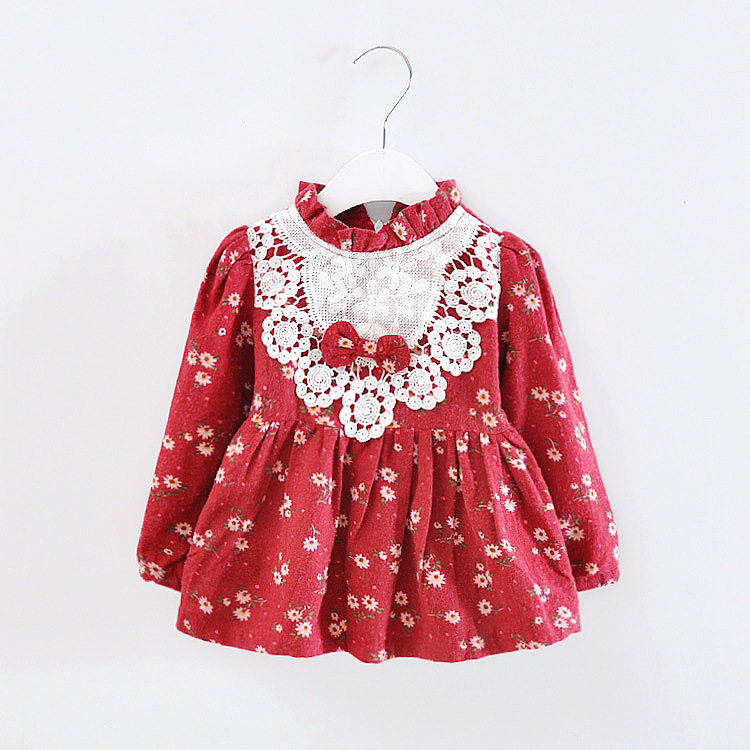 554453ef3bf Get Quotations · 2015 fashion dress mickey family clothing baby girl clothes  Autumn cloth baby dress carters vestido infantil