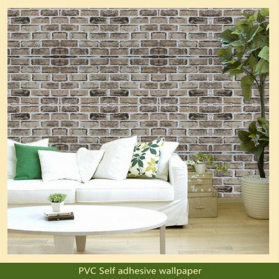 Papel pintado ladrillo relieve papel pintado imitacin ladrillo d diseo papel de pared pe espuma - Papel pintado ladrillo blanco ...