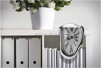 Vintage Surrealist Retro Distorted Clock Right Angle Wall Clocks Melting Clocks Home Decor