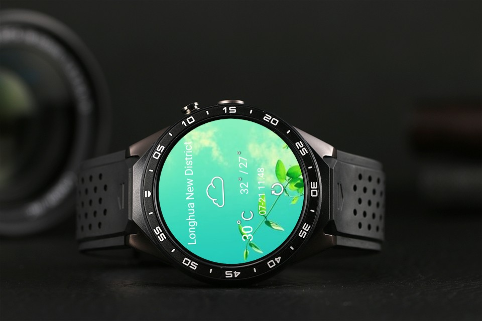 2017 OEM Smart Watch Phone 3G Bluetooth Smart Watch KW88 with WIFI GPS heart Rate Sensor