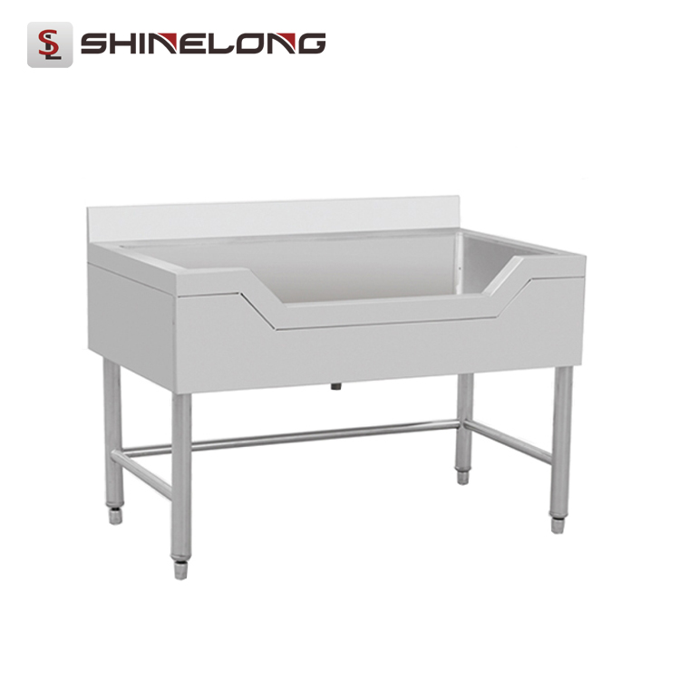 NSF Certification SS304/201 Free Standing Italian Kitchen Sink