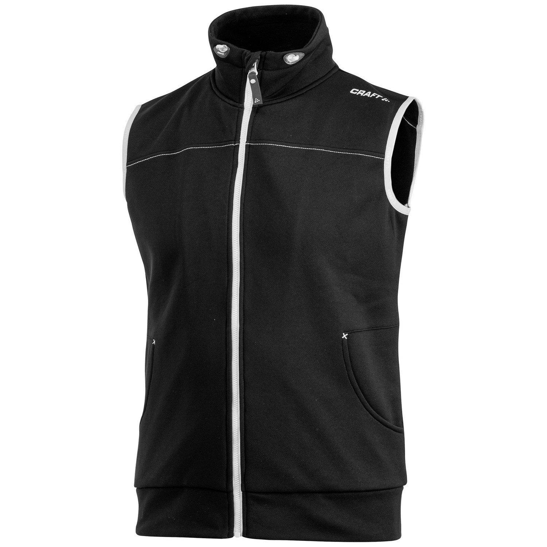 Craft Mens Leisure Athletic Sleeveless Full Zip Vest/Bodywarmer