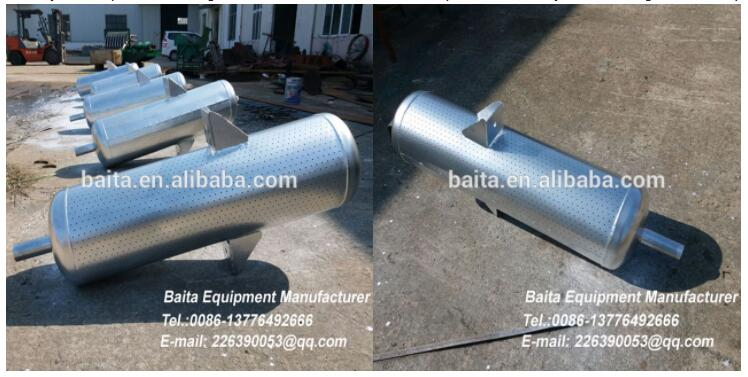 Steam exhaust silencer -Direct deal-Price concession, Golden quality
