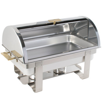 Deluxe  guangzhou Roll Top  chafing dishes