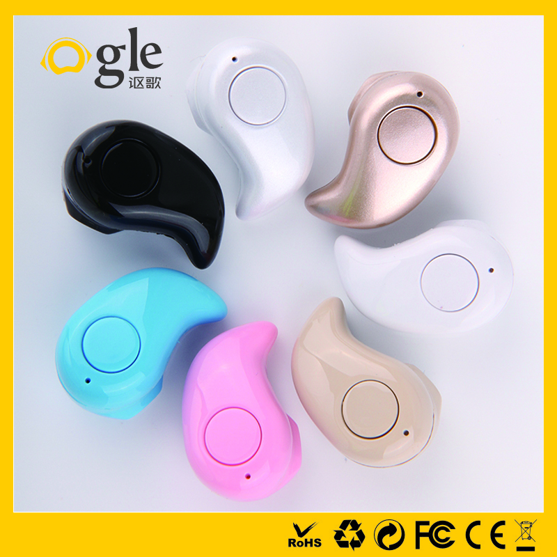 Mini In ear bluetooth earphone with using time up to 40 hours