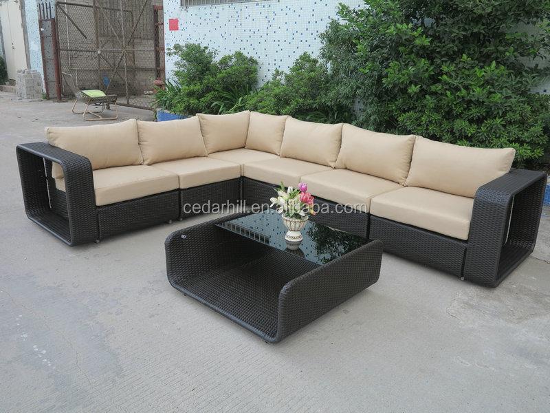 Muebles de mimbre al aire libre, fábrica del fabricante Hotel ...