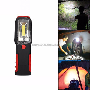 Portable Ultra Bright Hand Held 3W COB Rechargeable Work light With LED