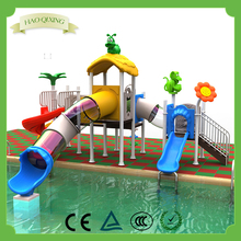 Outdoor children's playground high-quality swimming pool water slide equipment