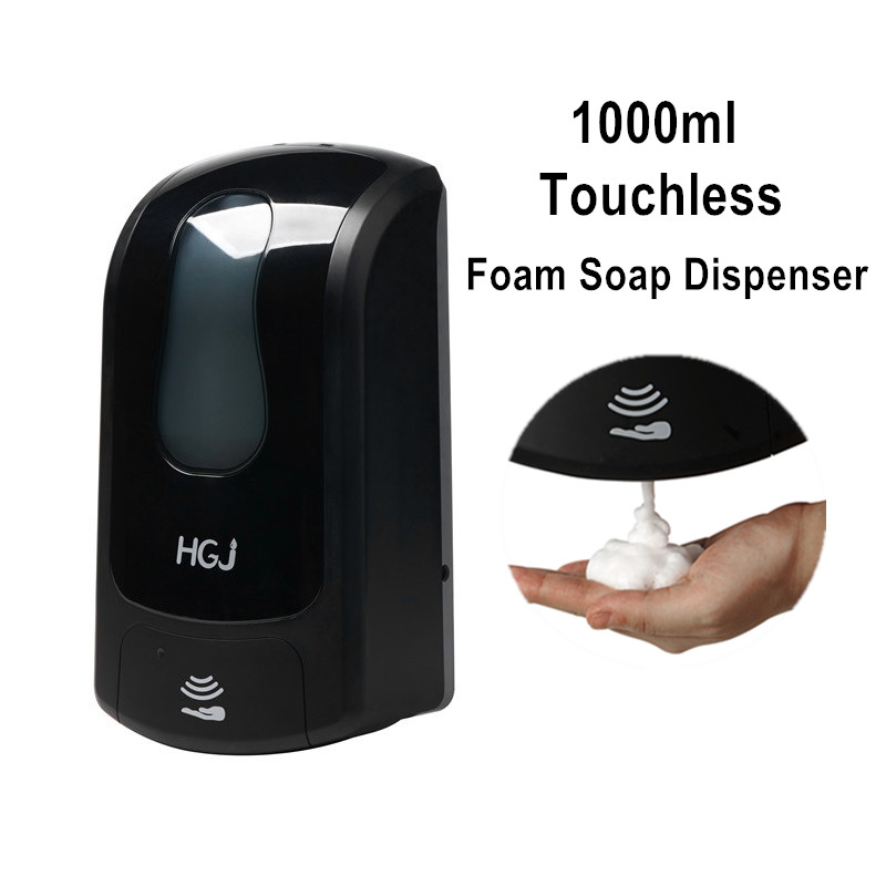 Battery operated hand alcohol gel dispenser power saving foam soap dispenser