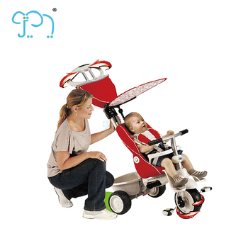 Luxury Baby Trike With Light And Music Baby Smart Trike Recliner Children 4 In 1 Baby Stroller Tricycle For Sale Buy Luxury Baby Trike Baby