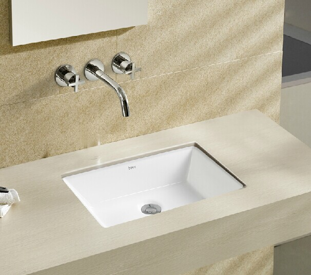 8021 rectangle design santiary ware under counter hand for Best wash basin design
