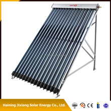 Metal-glass evacuated solar collector, EN12975 solar keymark, high thermal efficiency 0.68-0.73