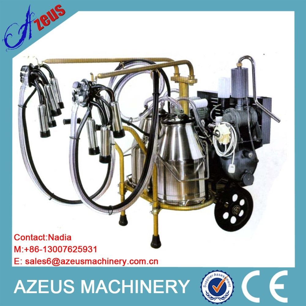 Safety low noise cow milking machine human milking machine