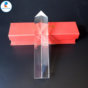 Optical fused silica/quartz triangular prisms