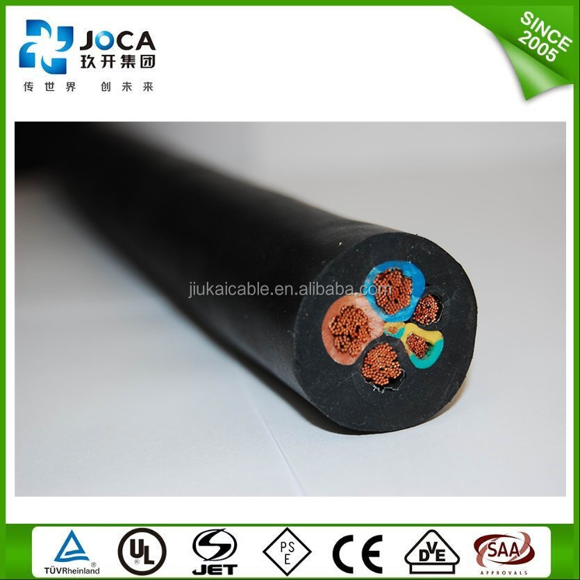 600v Flexible Cable 3x12 3x10 4x10 4x8 Awg Soow Rubber