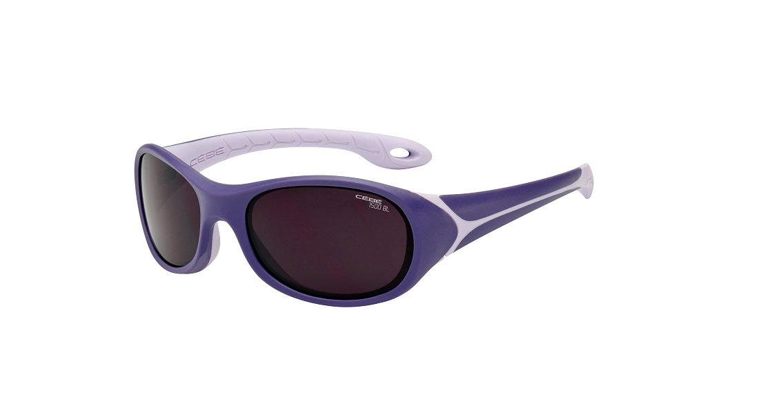 f094b90d21 Get Quotations · Cebe FLIPPER 3 TO 5 YRS KIDS SUNGLASSES (VIOLET WITH 1500  GREY BLUE LIGHT LENS