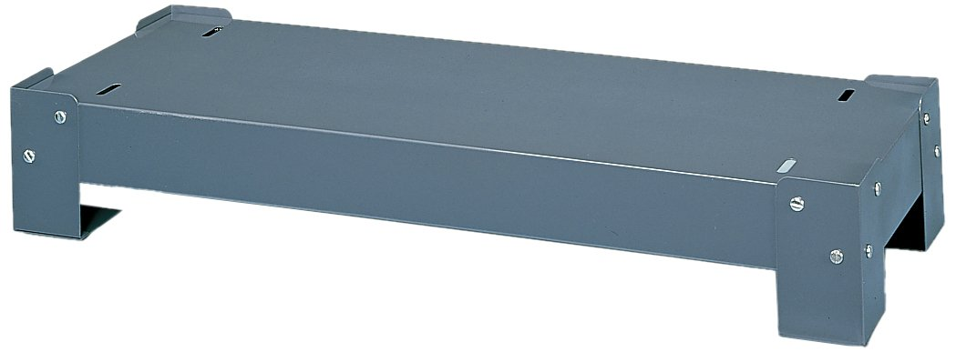 "Durham 364-95 Gray Cold Rolled Steel Drawer Cabinet Base, 33-3/4"" Width x 5-3/4"" Height x 12-1/4"" Depth"