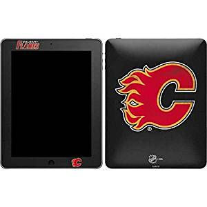 NHL Calgary Flames iPad Skin - Calgary Flames Distressed Vinyl Decal Skin For Your iPad