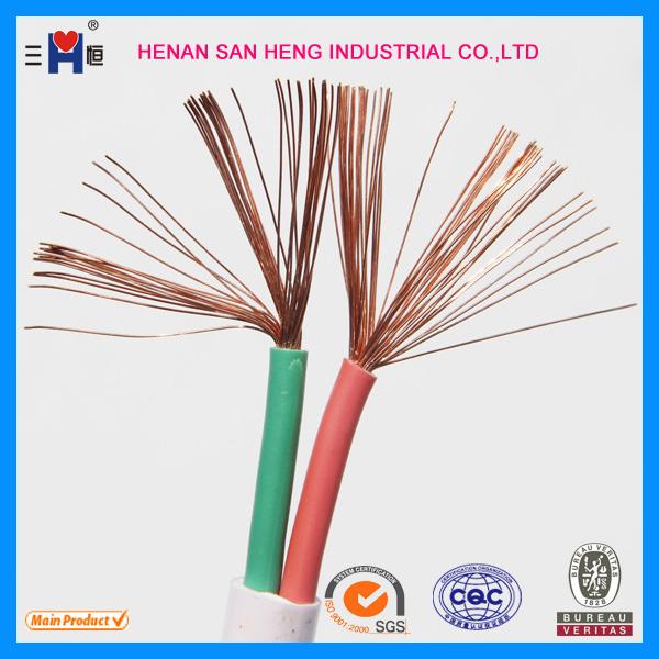 H03vvh2-f Black Flat Flexible Cable 2192y 2 Core 0.50mm 3 Amp 0.75mm ...
