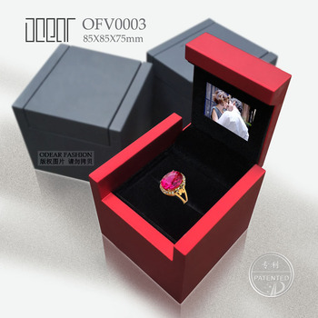 lcd elegant personalized unique video ring box - Wedding Ring Box