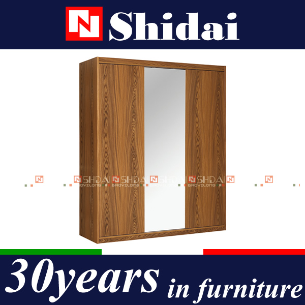 Sliding Door Wooden Almirah Designs With Mirror F-20 - Buy Wooden Almirah  Designs With Mirror,Almirah,Sliding Door Wooden Almirah Designs Product on  ...