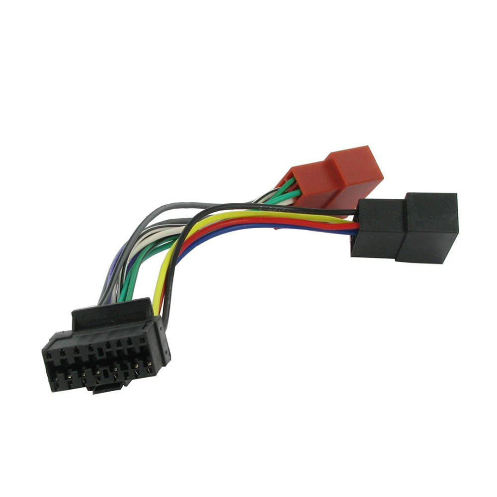 Get Quotations · JVC Old 16 Pin to ISO Lead Wiring Loom Power Adaptor Wire  Radio Connector Harness