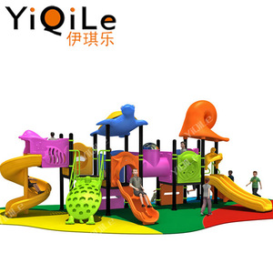 Children dreamland playground high quality plastic playground for kids outdoor entertainment equipment