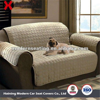 Quilted Pet Couch Sofa Cover Slipcover Loveseat Chair