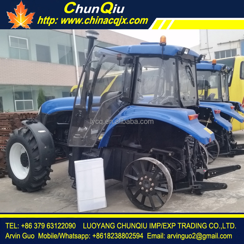 Chinese good brand 120hp farm tractor model 1204 wheeled tractor 4 wheel drive for sale