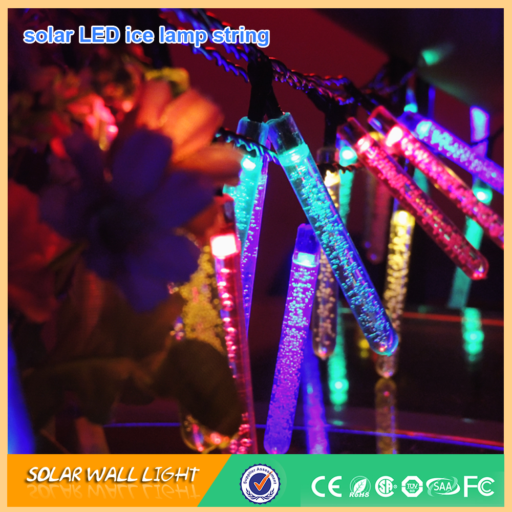 Icicle Christmas Led Solar String