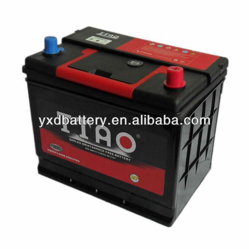 12v Mf Battery Car Battery Korea 55d26l Mf Car Battery