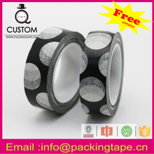 2016 hot sale deco & DIY paper tape polka dot for party
