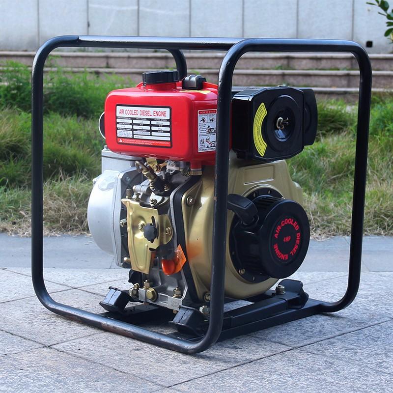 Bison china taizhou 2 inch portable farm irrigation diesel for Diesel irrigation motors for sale
