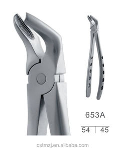 Lower bicuspids adults extracting forceps