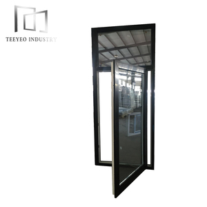Teeyeo 2018 latest simple japanese window grills color design for pvc tilt and turn windows and doors