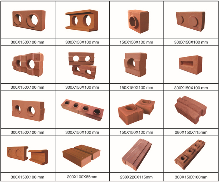 1-25 small scale manual diesel type compressed earth clay interlocking brick block machine for making brick ecological