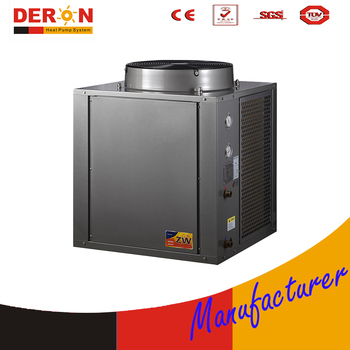 Commercial Air To Water Heat Pump Heater Source Hot Generator