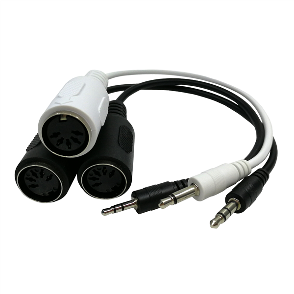 6 Cara 6 Multi Headphone Splitter Adaptador De Kabel Konverter Adaptor 3.5 Mm Jack untuk Smartphone Tablet PC Stereo