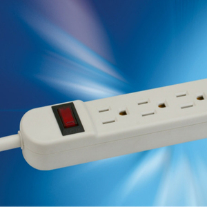 CE ROHS Listed Best Price 6 Ground US Outlets 6 Super Charging USB Ports Power Strip / Extension