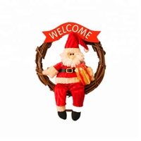 Wholesale small gift santa claus lovely christmas hang pendant gift