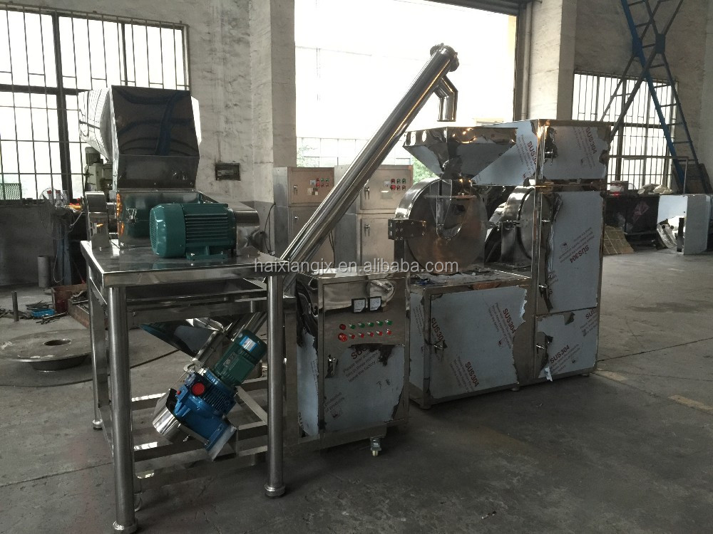 Large output commercial dry spice grinder/cocoa grinding machine/coffee bean grinding machine